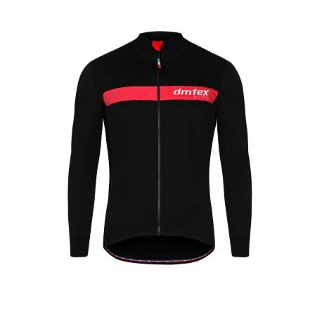 Veste thermique Evolution I noir rouge
