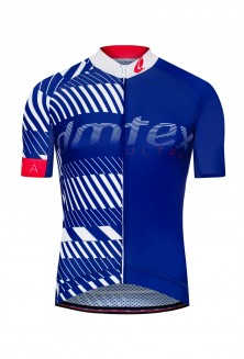 Maillot manche courte Dmtex Ultra bleu blanc rouge