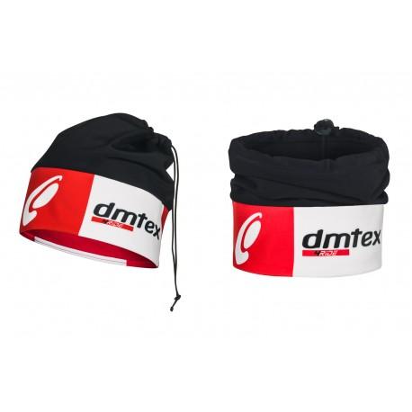 Bonnet hiver noir/rouge