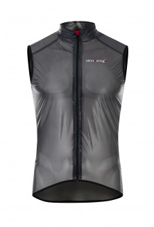 Gilet transparent noir