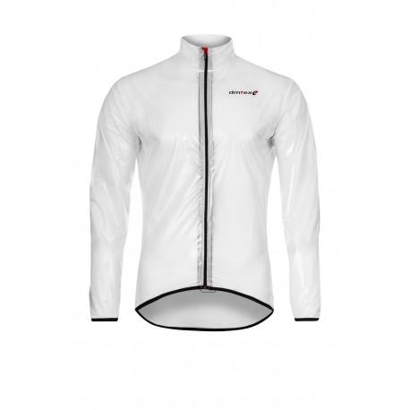 Coupe pluie transparent blanc