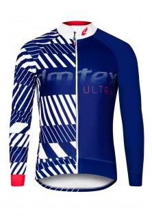 Veste thermique ULTRA bleu blanc
