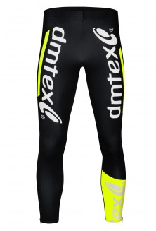 Collant cyclocross jaune fluo