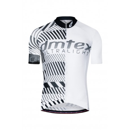 Maillot manche court Dmtex Ultra light blanc noir