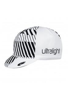 Casquette Ultra light blanc noir