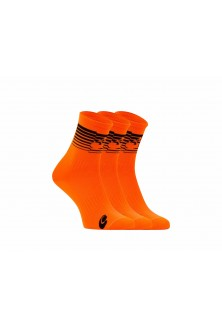 Packs chaussettes orange fluo noir