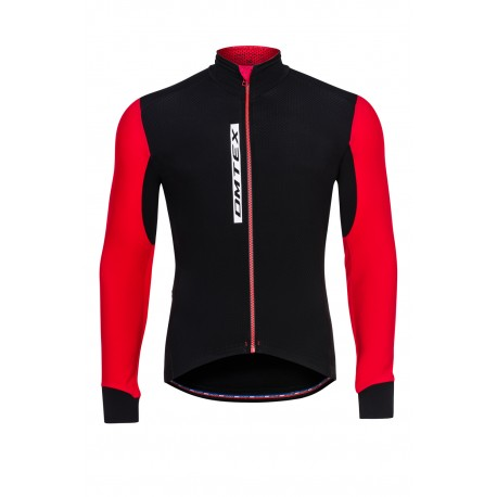 Veste ULTRA III -ROUGE demi saison  finitions carbones