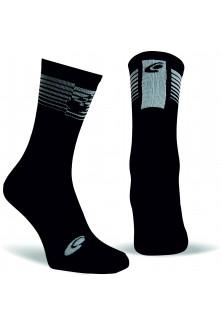 Chaussettes noir et blanc