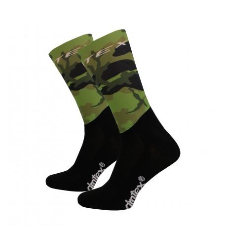 Chaussettes compétition Camouflage Khaki