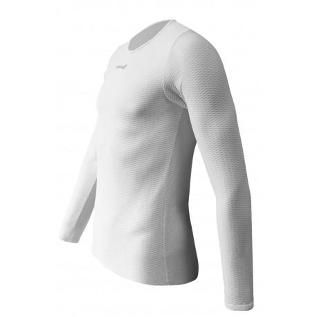 Sous vêtement manche longue blanc carré