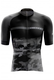 Maillot manche court Camouflage Gris